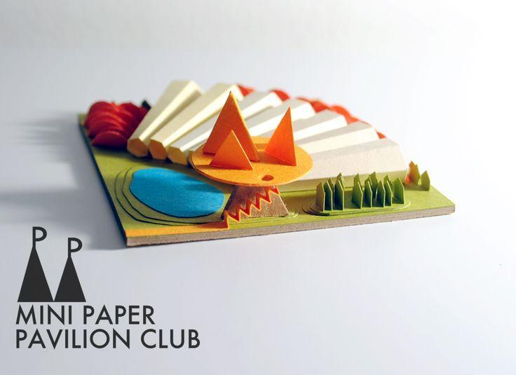 Scordatevi i club di lettura condivisa dei romanzi di Jane Austen. Anche quelli di cucito e sferruzzamento del giovedì sera. Con ilMini Paper Pavilion Club, la protagonista, è la carta. Una carta …