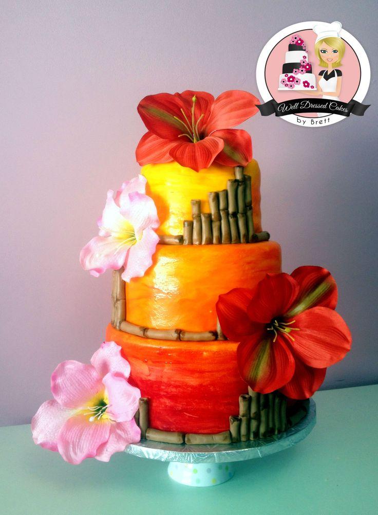 Best 25 Hawaiian Theme Cakes Ideas On Pinterest