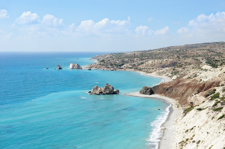 The birthplace of Aphrodite, Cyprus
