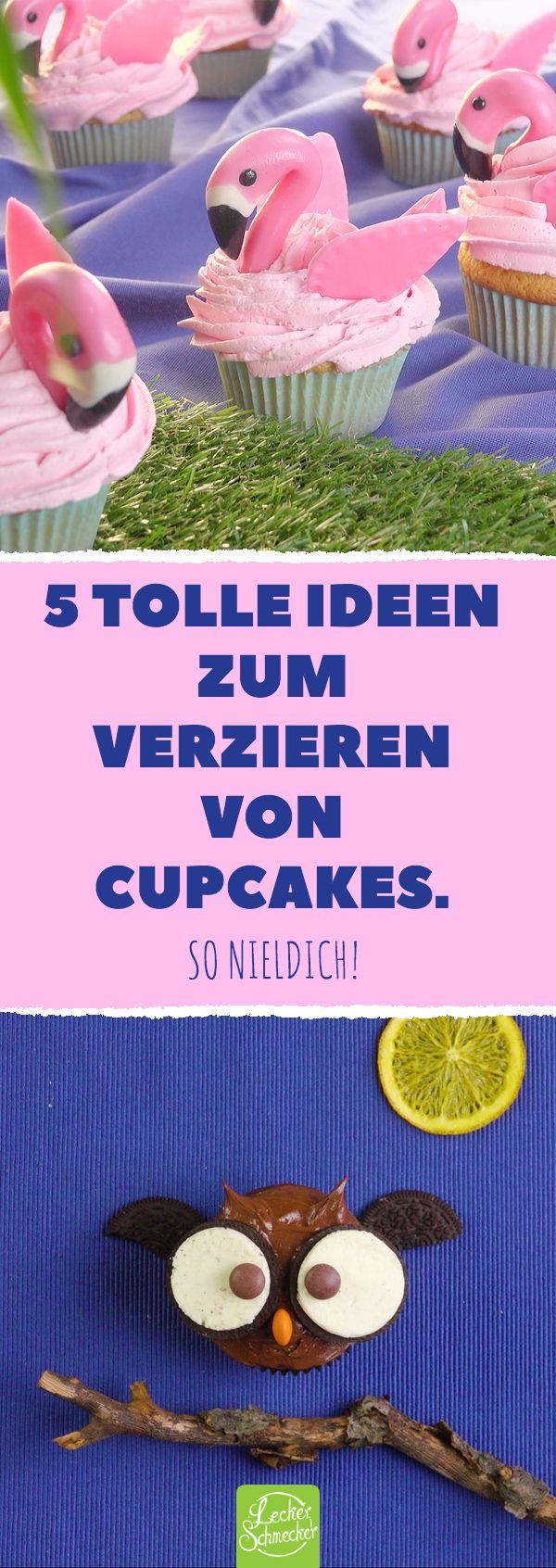 Lassen Sie den Muffin kopfüber in die Masse fallen. Das wirst du nicht glauben! 5 tolle ich …   – Kuchen & Torten Rezepte