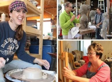 Villages Folk School - Keosauqua Local artists open their studios to offer over 100 classes year-round in traditional and contemporary arts.  Pottery, sculpting, painting, letterpress printing, foraging, blacksmithing, rug weaving, and more class options available.