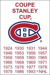 Montreal Canadiens Stanley Cups. 2013 is about to be added! Weooo