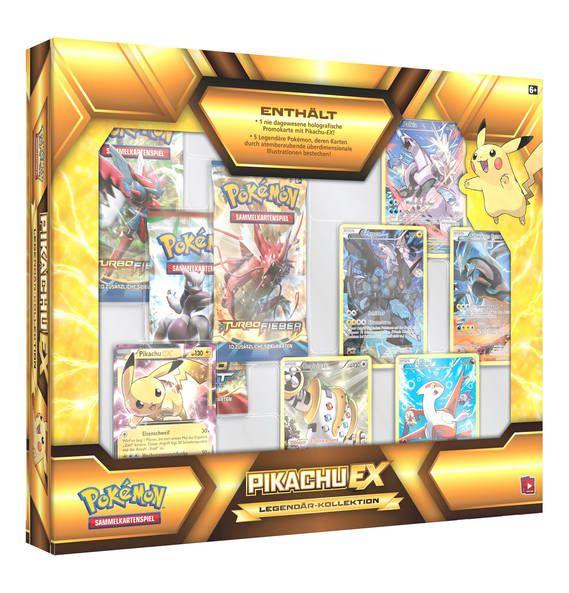 AMIGO Pokémon Hoopa/Pikachu-EX Box Legendär-Kollektion #1000undEinenWunsch