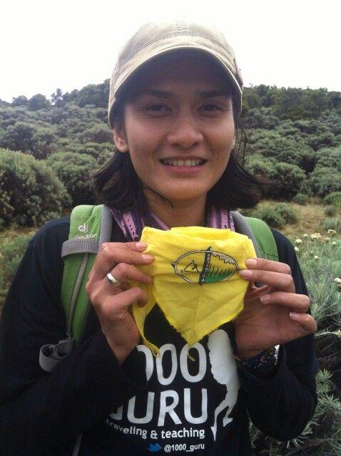 Medina Kamil say hello to KPALH SETRAJANA FISIPOL UGM! Yeyeyey
