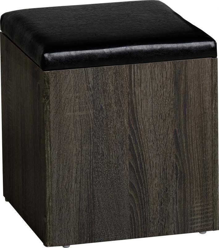 Cambourne 2 Drawer Dressing Table Set in Dark Sonoma Oak Effect #DressingTablessets #DressingTables #Dressing