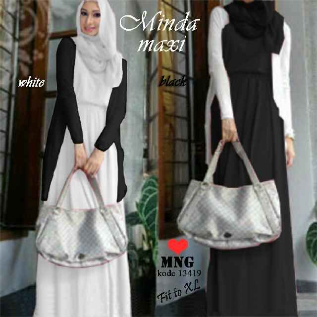 EF13419M @119rb  jersey+outer+pshmina all size fit L-XL