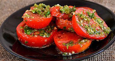 Помидоры по-корейски – простая, свежая и ароматная закуска к шашлыку!
