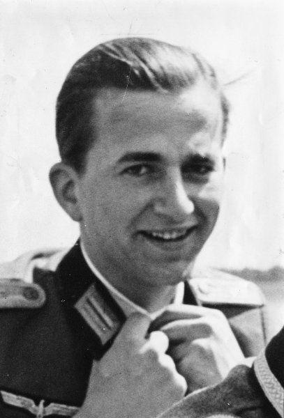 von Weizäcker als Wehrmachtssoldat 1945