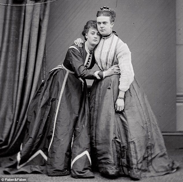 """Victorian cross dressers """"Fanny"""" and """"Stella.""""  Fanny and Stella's real names were Frederick Park, 22, and Ernest Boulton, 21.  They were charged and could have faced up to 10 years in prison, but the case against them collapsed."""