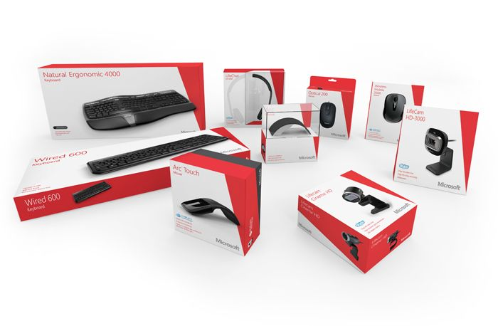 Microsoft Hardware Packaging - The Dieline -