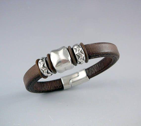 3rd Wedding Anniversary Gift Nickel Free Jewelry Leather