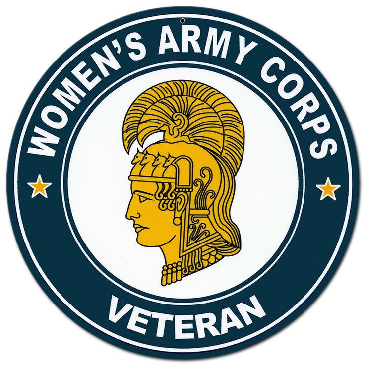 From the Altogether American licensed collection, this Woman's Army Corps Veteran Athena metal sign measures 14 inches by 14 inches and weighs in at 1 lb(s). This metal sign is hand made in the USA us