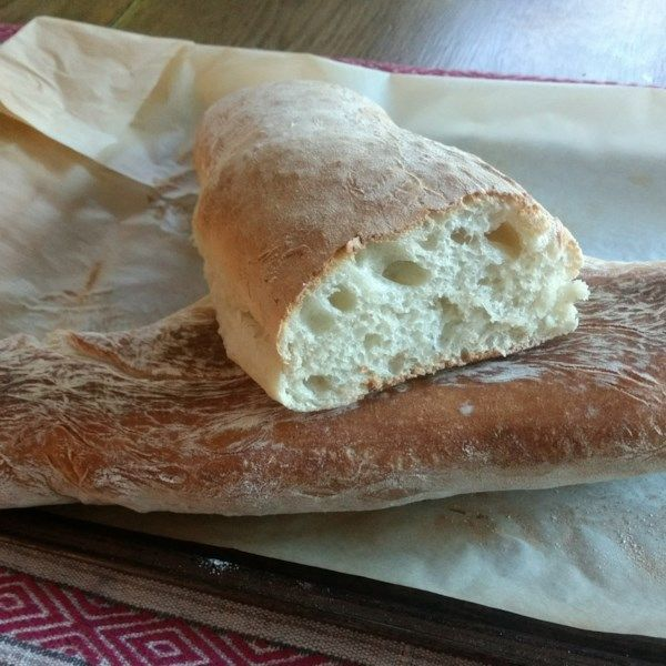 Ciabatta Bread This Very Simple Recipe Can Be Made In The Bread