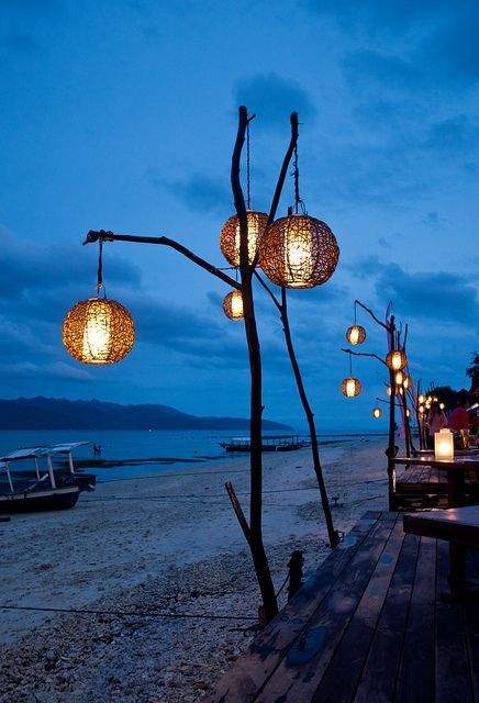 Beach bar lanterns | Flickr - Photo Sharing!