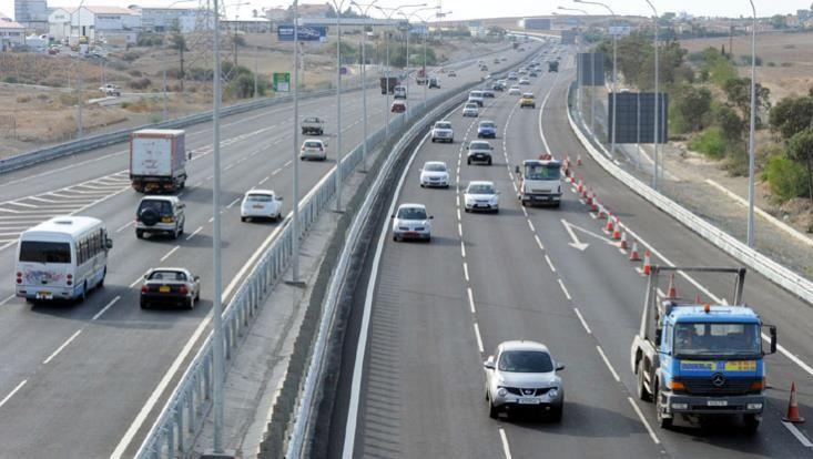 Οδικές εργασίες στον αυτοκινητόδρομο Λευκωσίας – Λεμεσού