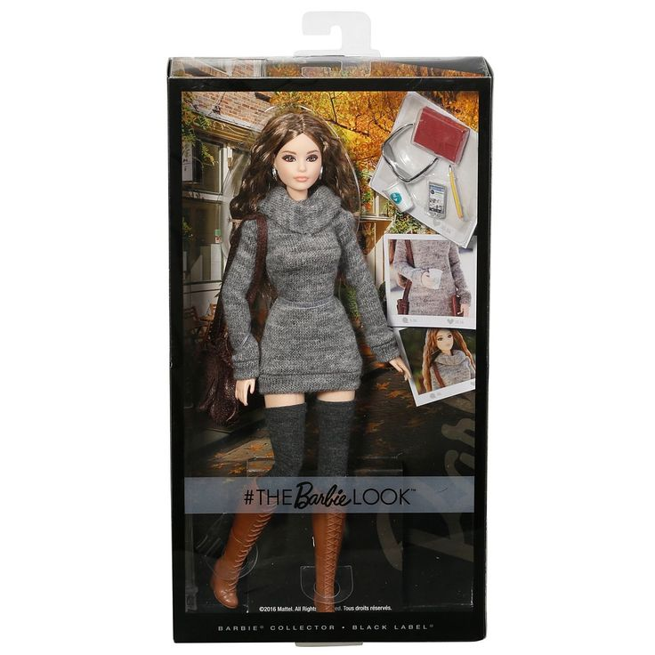 Check out the The Barbie Look Barbie Doll - City Chic Style (DYX63) at the official Barbie website. Explore the world of The Barbie Look today!