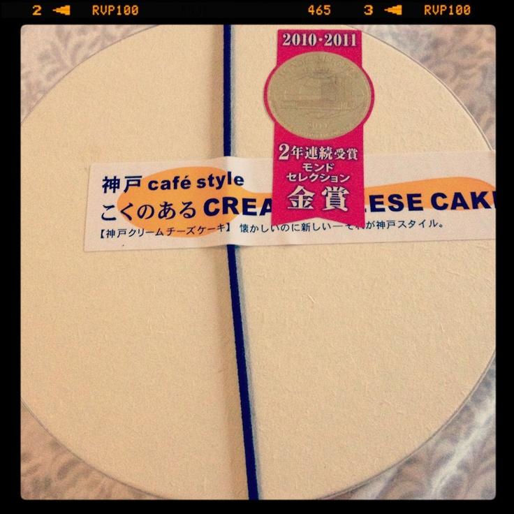 Kobe Cream Cheese Cake