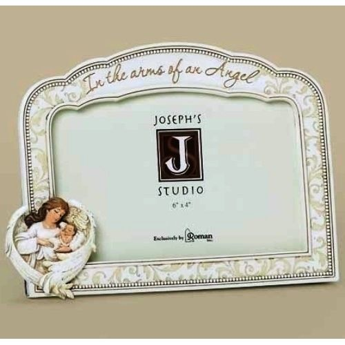 in the arms of an angel memorial frame