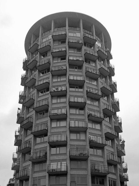 Residential tower block, Stockholm
