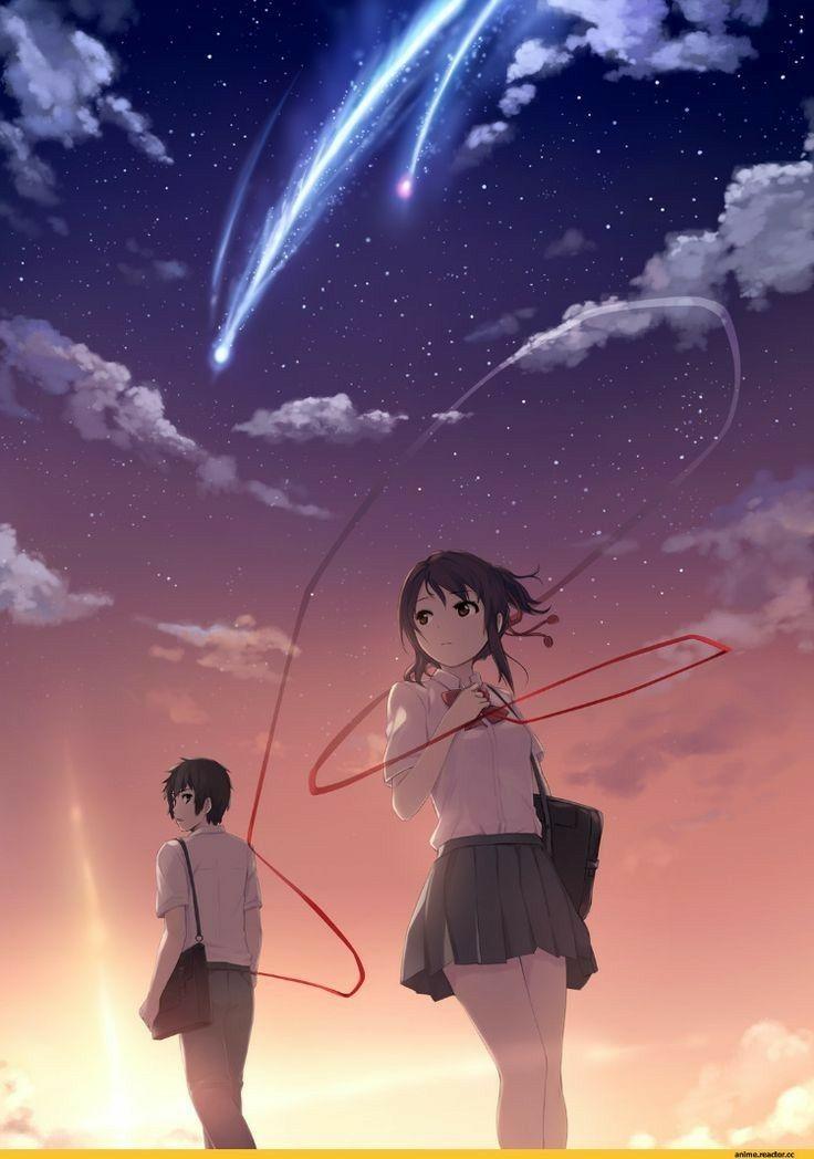 Anime World Your Name Anime Kimi No Na Wa Your Name Wallpaper