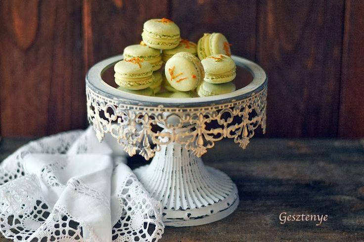Limoncellos macaron