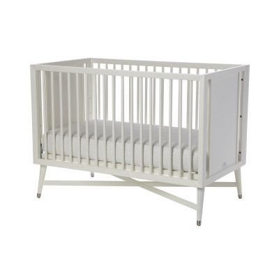 Dwell Studios Mid Century Crib   French White Simply Beautiful   A Classic  Style Thatu0027s The Centerpiece Of The Nursery. With An X Base Structure And  Tapered ...