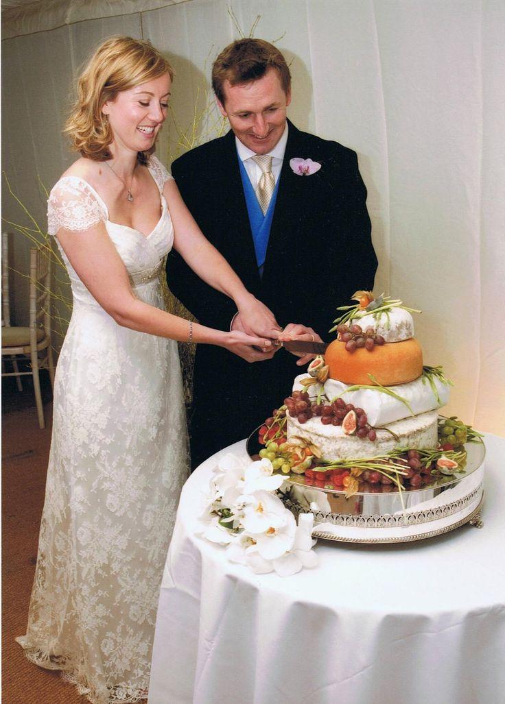 Northumberland Cheese Company Wedding Cake