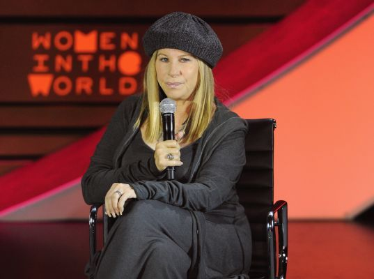 """Barbra Streisand co-founded the Women's Heart Alliance and donated $22 million to now Barbra Streisand Women's Heart Center at Cedars-Sinai medical center in Los Angeles. """"Women still think 'you better not talk about heart disease because it's an old man's disease,"""" Streisand said. Streisand was joined on stage by cardiologist Dr. Holly Anderson, Director of Education and Outreach, Ronald O. Perelman Heart Institute New York-Presbyterian Hospital/Weill Cornell Medical College, and heart…"""
