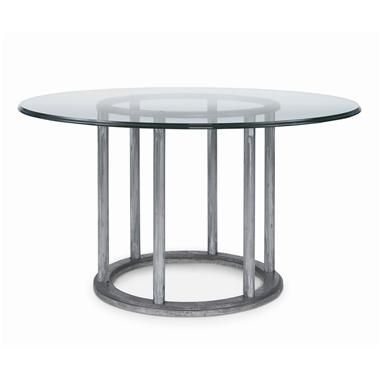 Best 25 metal dining table ideas on pinterest 8 seater for Cast iron and glass dining table