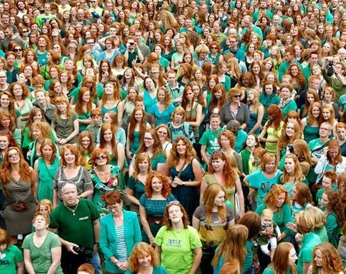 Redhead Day 2012, Breda, Netherlands