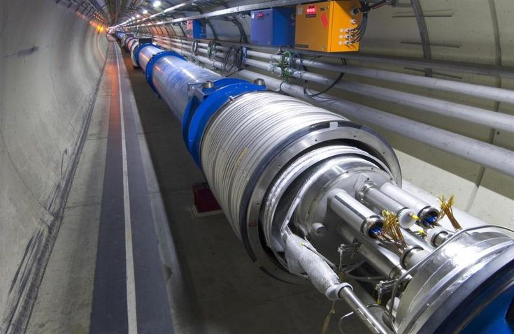 Reigning in chaos in particle colliders yields big results A method to correct tiny defects in the LHC's superconducting magnets (example shown above) was crucial to the discovery of the Higgs boson, which was announced in 2012.