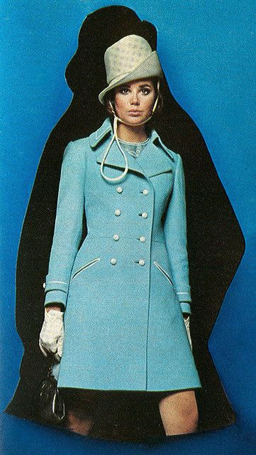 Colleen Corby blue coat by AngoraSox, via Flickr