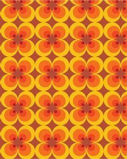 70s pattern by s.casper, via Flickr