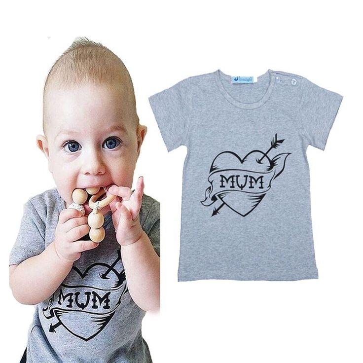 High Quality kikikids Summer Kids Boy Clothing T Shirt Cartoon Letter Pattern Top Fashion Baby Boy Girl Leisure Clothes T-Shirt