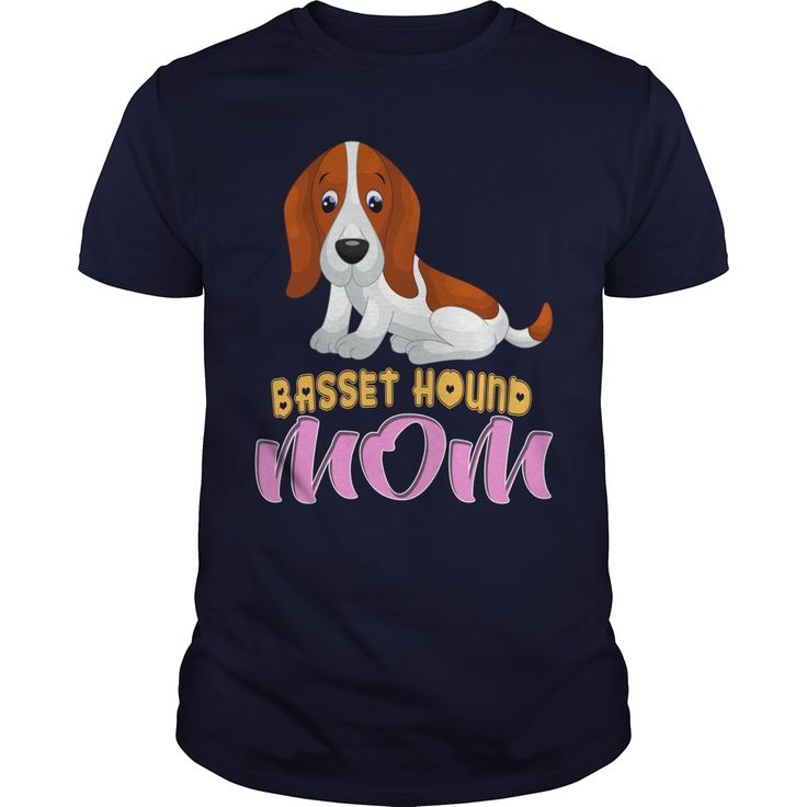Cute Basset Hound Dog Cartoon Mom - Cute Basset Hound Dog Cartoon Mom.Click To Add To Cart Above Buy Now.  #Basset Hound #Basset Houndshirts #iloveBasset Hound # tshirts
