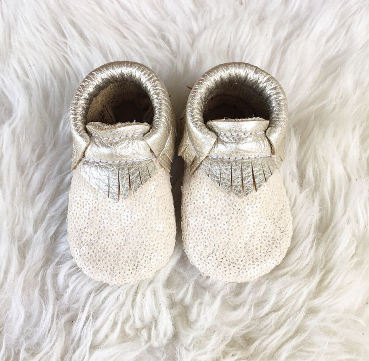 Platinum Moccasins, Sequin moccasins, Baby Moccasins, Toddler Moccasins, Leather Shoes, sequin baby moccasins by WildExplorers on Etsy https://www.etsy.com/listing/473933151/platinum-moccasins-sequin-moccasins-baby