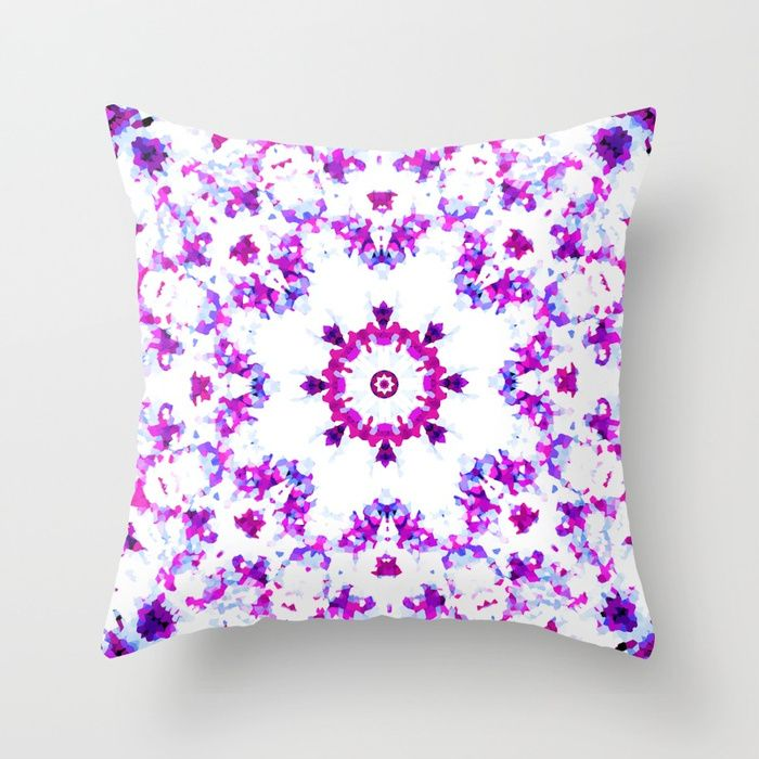 Buy MANDALA NO. 3 #society6 Throw Pillow by sboar_a. Worldwide shipping available at Society6.com. Just one of millions of high quality products available.