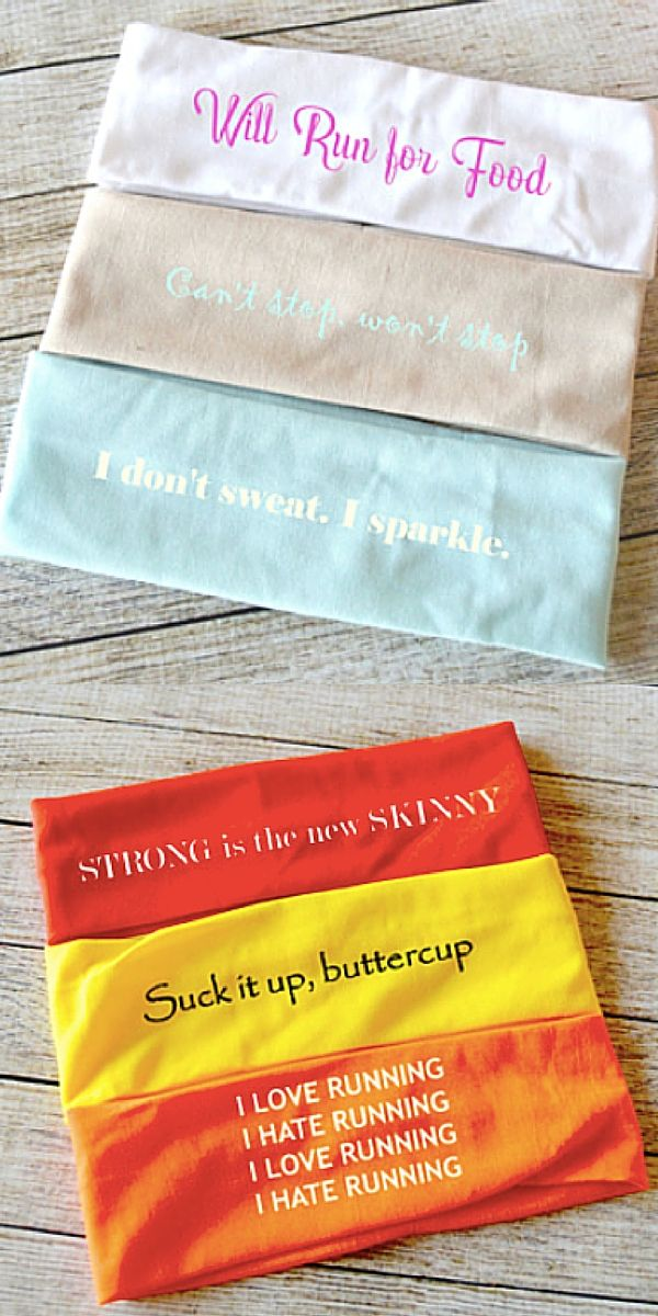 Want to look good during your workout but keep the sweat out of your face? These headbands are perfect for you! Featuring gorgeous colors and witty sayings these headbands are the perfect accessory for the gym or a quick run outside. Super stylish, brights and adorable, try them out today!