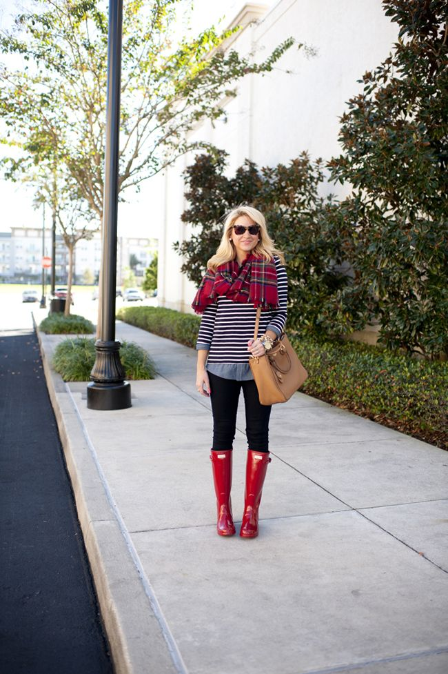 Outfit | Red Hunters   Red Plaid