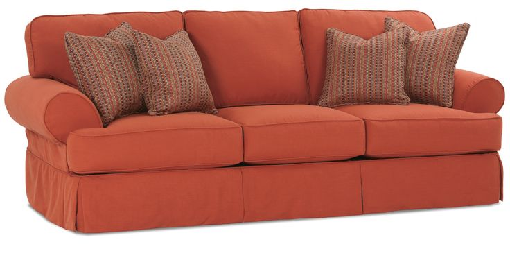 Addison 3 Seat Sofa W/ Slipcover By Rowe Furniture   Home Gallery Stores