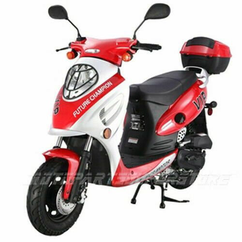 Advertisement Ebay 49 5cc Gas Moped Scooter Taotao Cy50 A Street Bike Motorcycle Free Shipping Scooters For Sale Moped Scooter 50cc Scooter For Sale