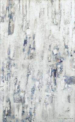 thunderstruck9:  Maria Helena Vieira da Silva (Portuguese, 1908-1992), Peinture blanche, bleue, 1959. Oil on canvas, 116 x 73cm.
