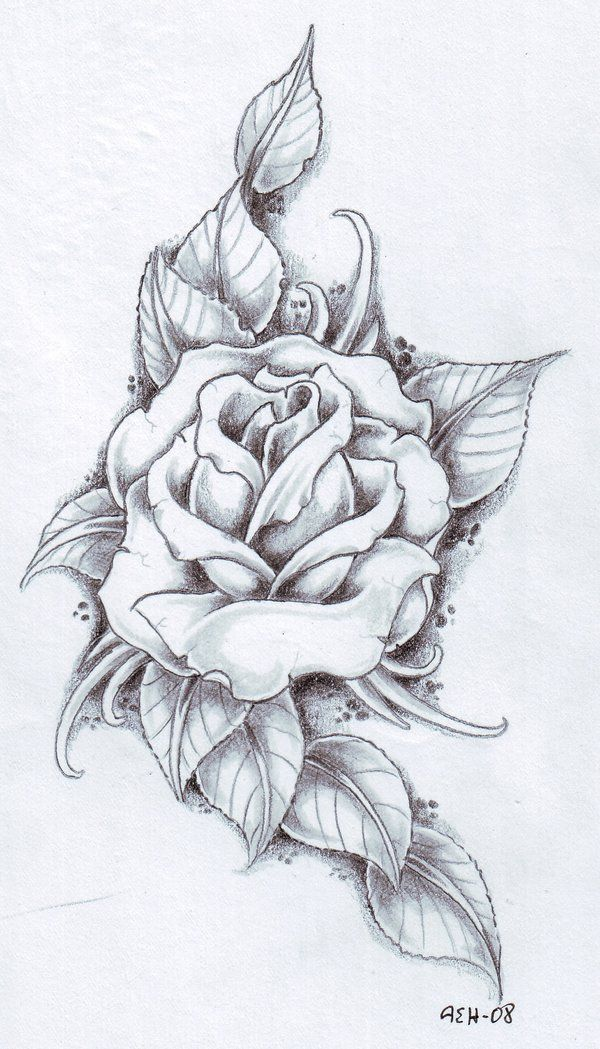 roses tattoos designs | Tattoos Fonts Ideas Designs Pictures Images: Black Rose Tattoo Designs ...