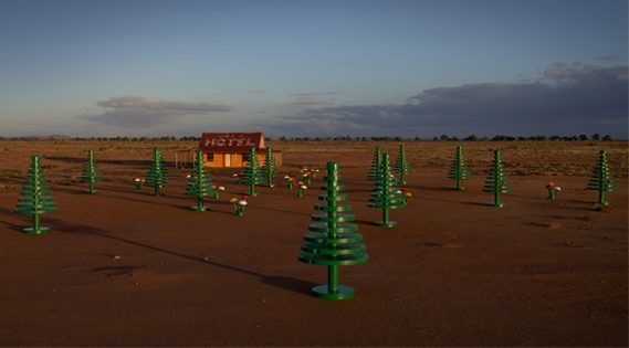 To celebrate 50 years of the Lego brick in Australia, the toy brand has launched the Lego Festival of Play, and has been 'planting' lifesize Lego forests across Australia.