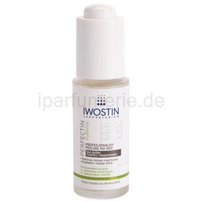 Iwostin Purritin Perfectin professionelles Peeling für die Nacht für fettige Haut mit Neigung zu Akne | iparfumerie.de