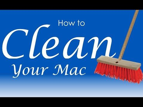 how to clean your cache mac