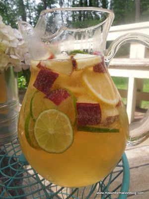 White Wine Sangria perfect for summer time!