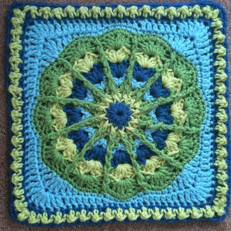 Fantastic! Afghan Square - Complete Pattern - Julie Yeager Designs