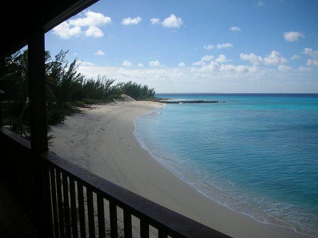 Pictures of the Bahamas, family Island San Salvador