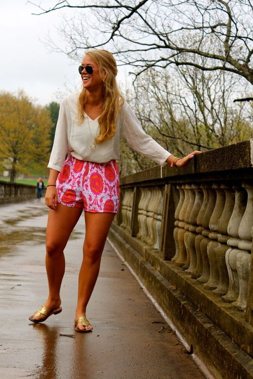 Beautiful summer shorts, comfortable, everyday